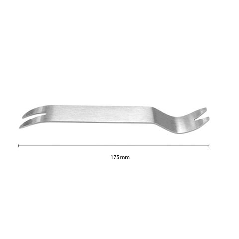 Car Trim Removal Tool (Stainless Steel, 175×20 mm) Preview 1