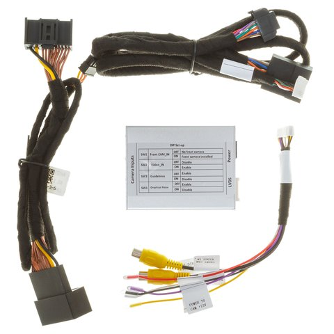 Front and Rear View Camera Connection Adapter for Audi A4/A5/Q3/Q5 without MMI System Preview 7