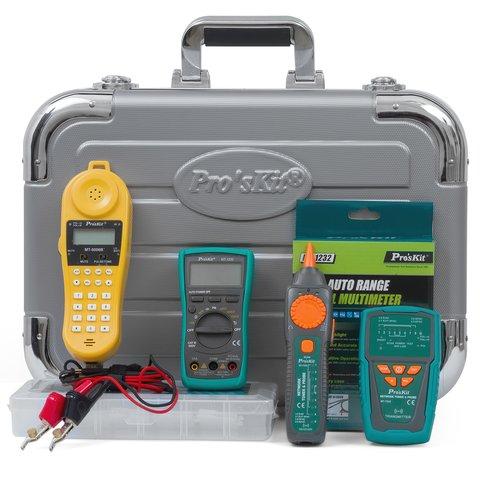 Набір інструментів Pro'sKit PK-4023BM для телекомунікаційних мереж Прев'ю 2