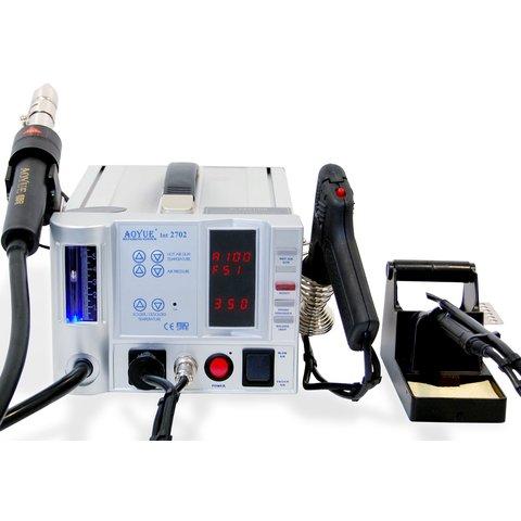 Термоповітряна паяльна станція для безсвинцевого паяння AOYUE 2702 з паяльником Прев'ю 3