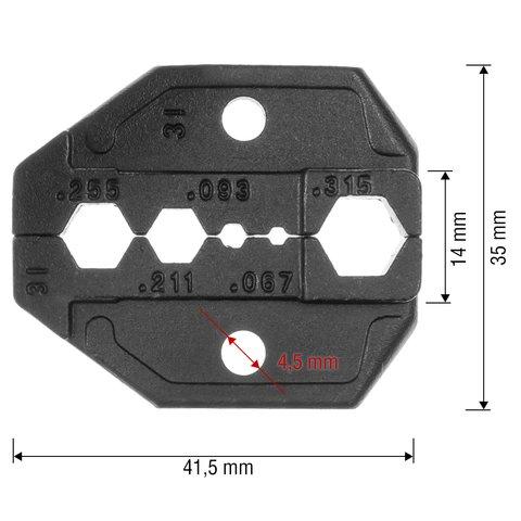 Матриця для кримпера Pro'sKit CP-336DI Прев'ю 1