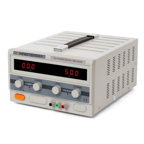 Лабораторний блок живлення Masteram MR5020E Прев'ю 1