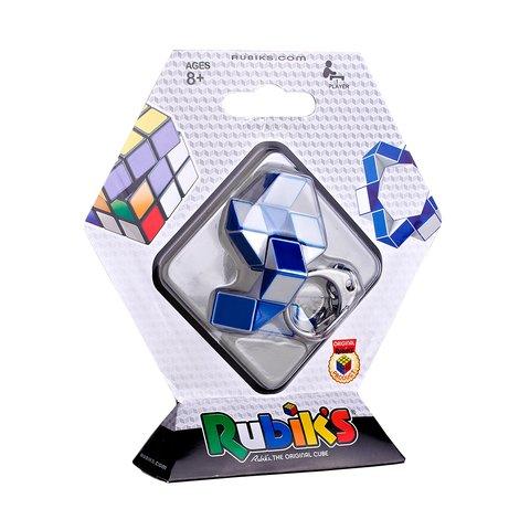 Міні-головоломка Кубік Рубіка Rubik's Змійка (біло-блакитна) Прев'ю 4