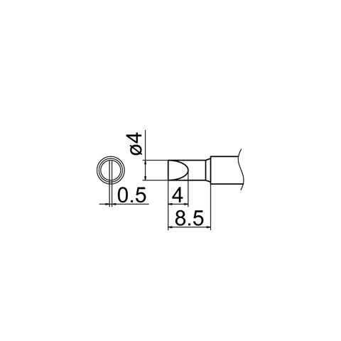Soldering Tip HAKKO T12-D4 Preview 4